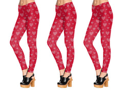 Hearts All Over Baby Leggings