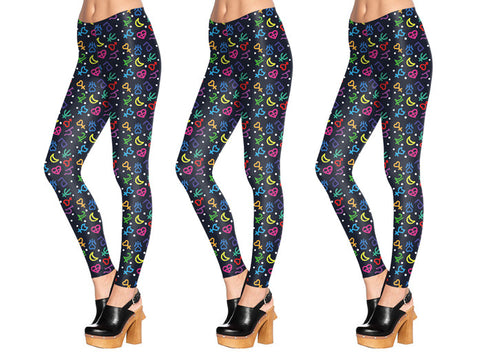 Sailor Symbol Leggings