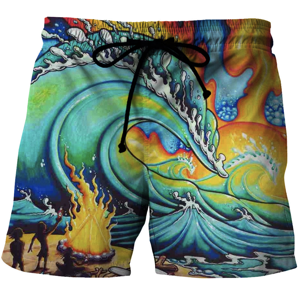 Blazin' Bonfire Shorts