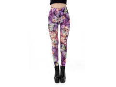 Pastel Floral Leggings
