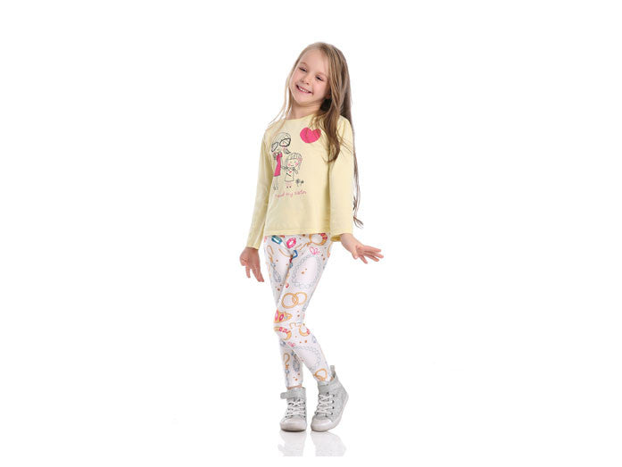 Pretty Princess Leggings for Kids