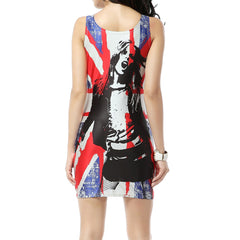 Union Jack Sleeveless Dress
