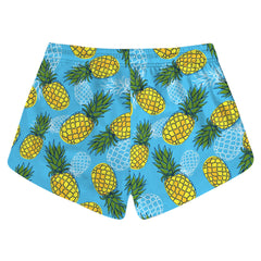 Blue Pineapple Shorts