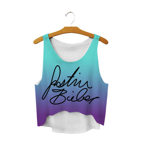 Justin Fanatic Crop Top