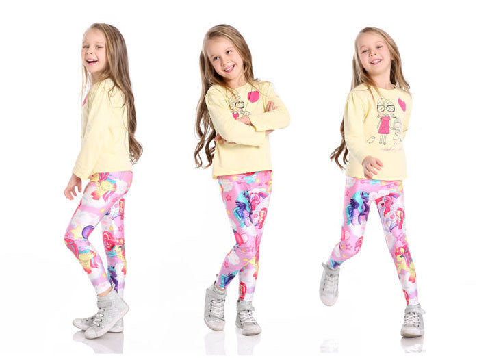 Magical Land Leggings for Kids