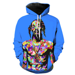 Limited Edition Snoop Dog Hoodie 3D Printed