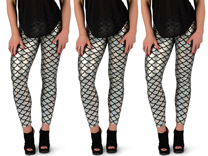 Sassy Mermaid Leggings