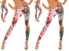 Abstract World Leggings