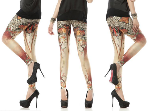 Art Nouveau Leggings