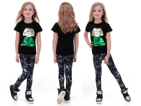 Bubble Leggings for Kids