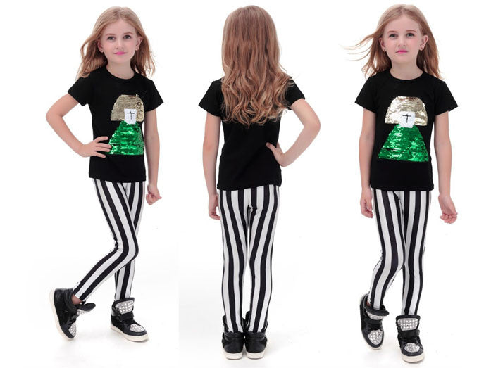 Striped Leggings for Kids