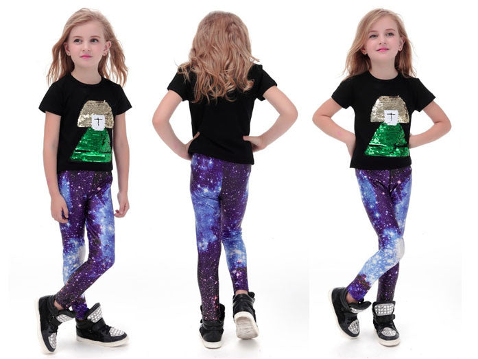 Galaxy Leggings for Kids