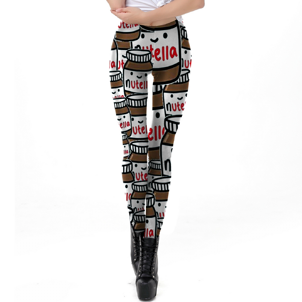 Nutella Leggings