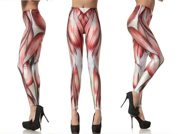 muscle leggings | online legging store leggings,galaxy,black,bones,