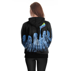 Paint The Sky Hoodie 3D Printed