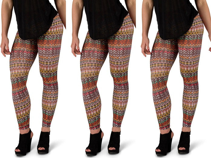 Spice Aztec Leggings
