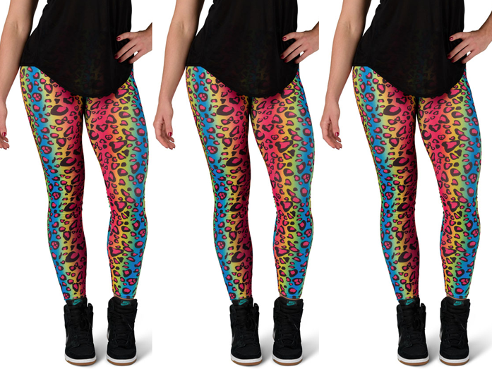 Wild Cheetah Leggings