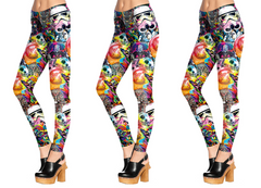 May The Force Mash Up Leggings