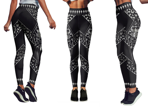Limited Edition Black Panther Leggings