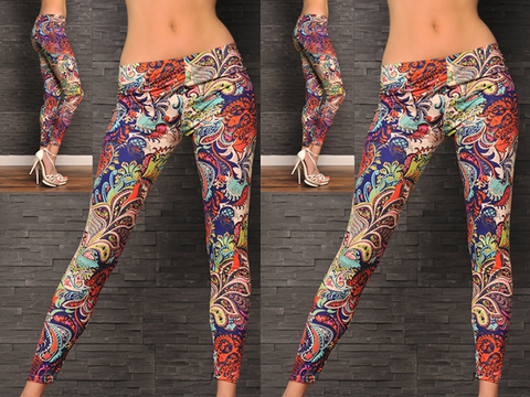 Summer Fusion Leggings