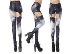 Galaxy Suspender Leggings