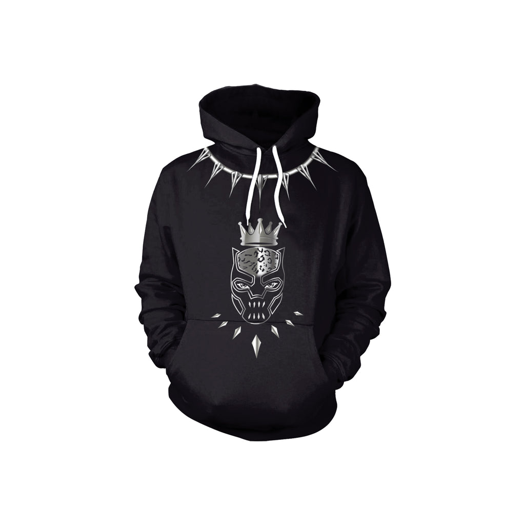 Limited Edition Black Panther Hoodie 3D Printed