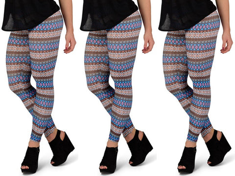 Mystique Tribal Print Leggings