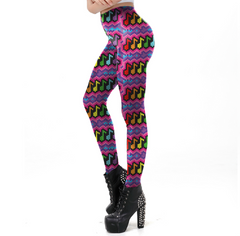 Musical Rainbow Leggings