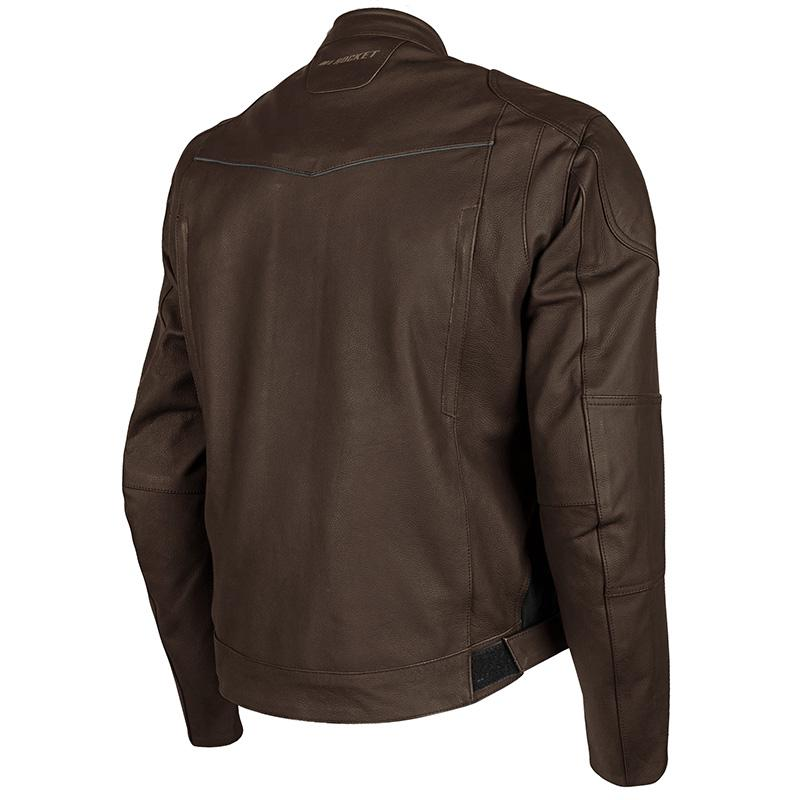 Rasp Leather Jacket