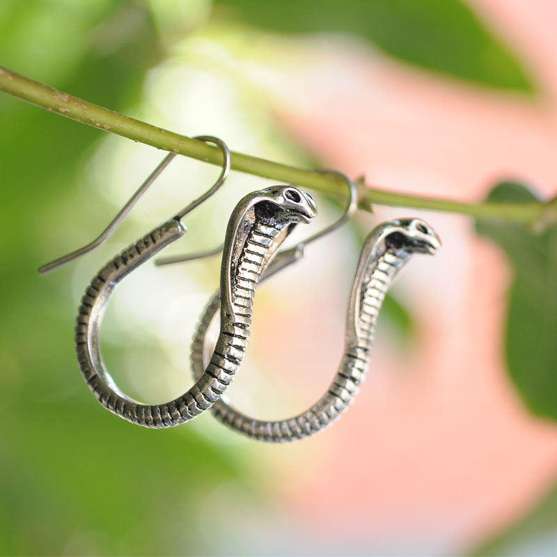 Egyptian Cobra Earrings - Baehub