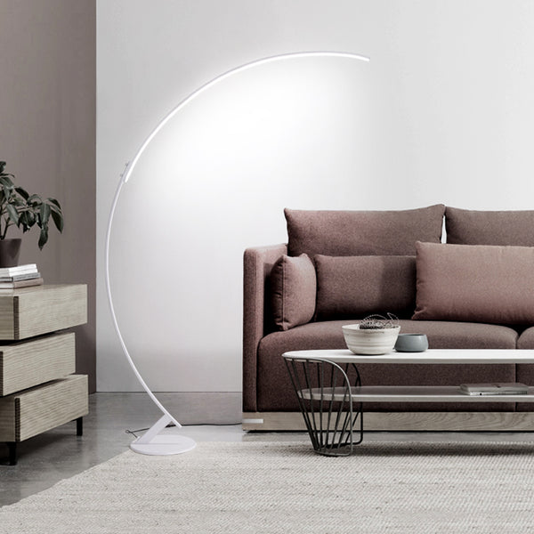 Line Led Arched Floor Lamp