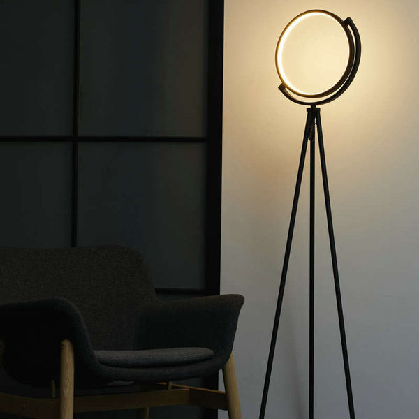 Tripod Halo Led Floor Lamp (Warm White)