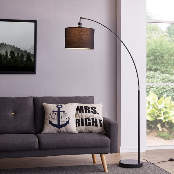 "Lightsmoon 71"" Arched Floor Lamp"