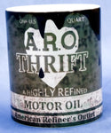 ARO Thrift Retro oil can mug