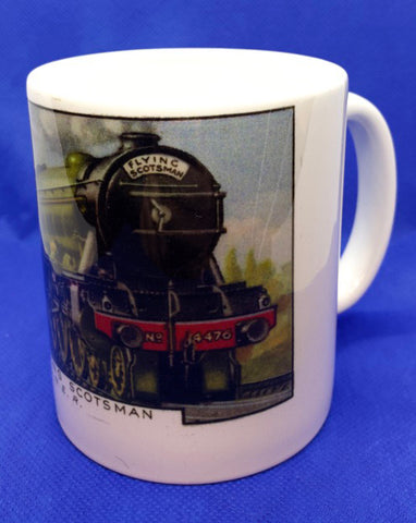 Custom Printed Flying Scotsman Mug