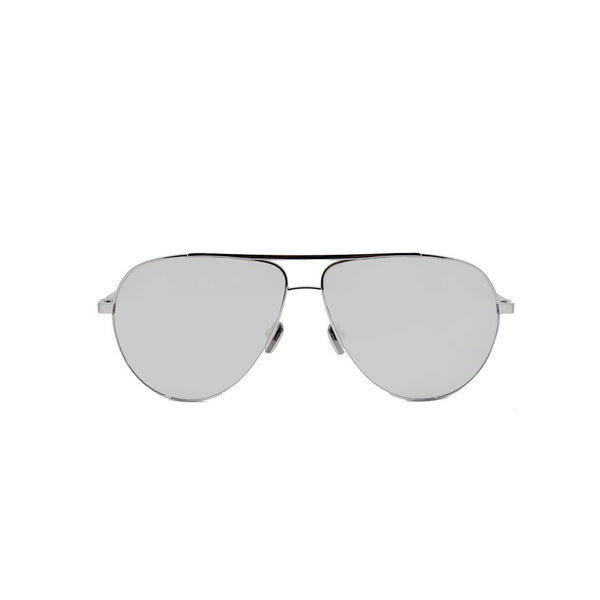 Linda Farrow 501 Aviator Sunglasses in White Gold - Optic Butler  - 1