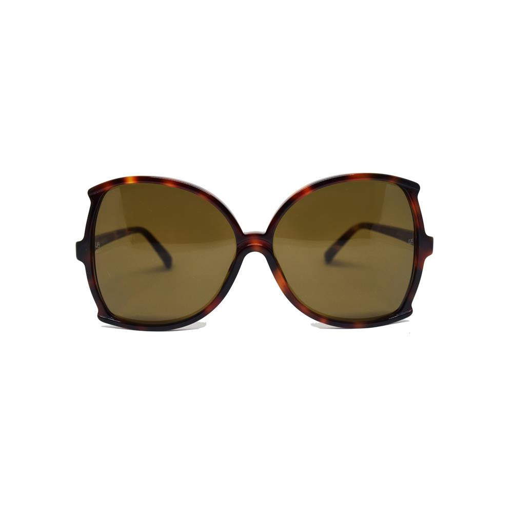 Linda Farrow 514 Oversized Sunglasses in Tortoise Shell - Optic Butler  - 1