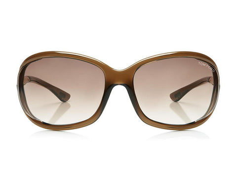 Tom Ford FT0008 Jennifer Soft Square Sunglasses - Optic Butler  - 1