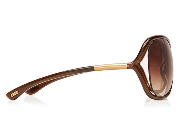 bb44ba706ac76 ... Tom Ford FT0009 Whitney Oversized Soft Round Sunglasses - Optic Butler  - 4