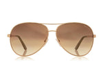 Tom Ford FT0035 CHARLES ROUND AVIATOR SUNGLASSES - Optic Butler  - 1
