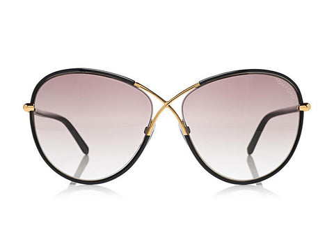Tom Ford FT0344 ROSIE OVERSIZED BUTTERFLY SUNGLASSES - Optic Butler  - 1