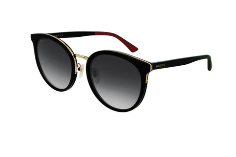 Gucci Rounded Cat-eye Shaped  Sunglasses
