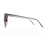 Linda Farrow 509 Browline Sunglasses In Nickel - Optic Butler  - 3