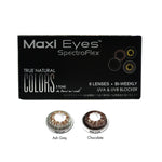 Maxi Eyes 3 Tone Bi-weekly Natural Color Series