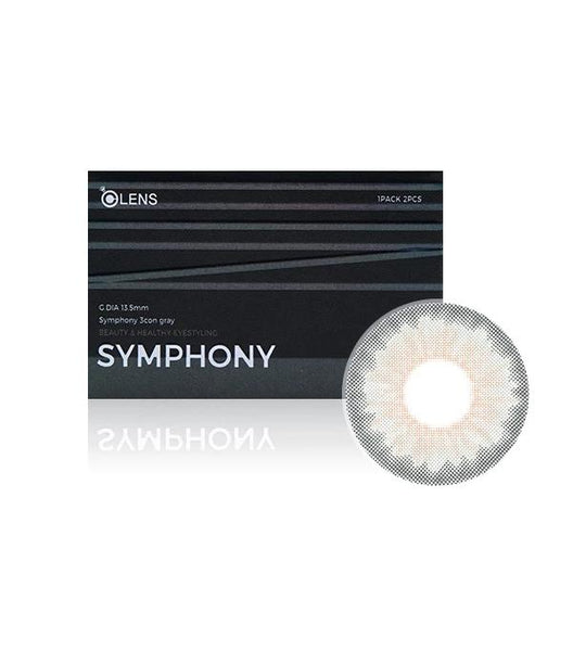 OLens Symphony 3Con Gray Monthly Lens