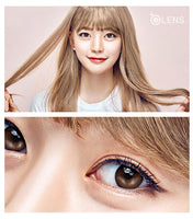OLens TeenTeen Latte Brown Monthly Lens