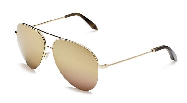 Victoria Beckham Classic Victoria 18ct Gold Mirror VBS100 C08 - Optic Butler  - 1