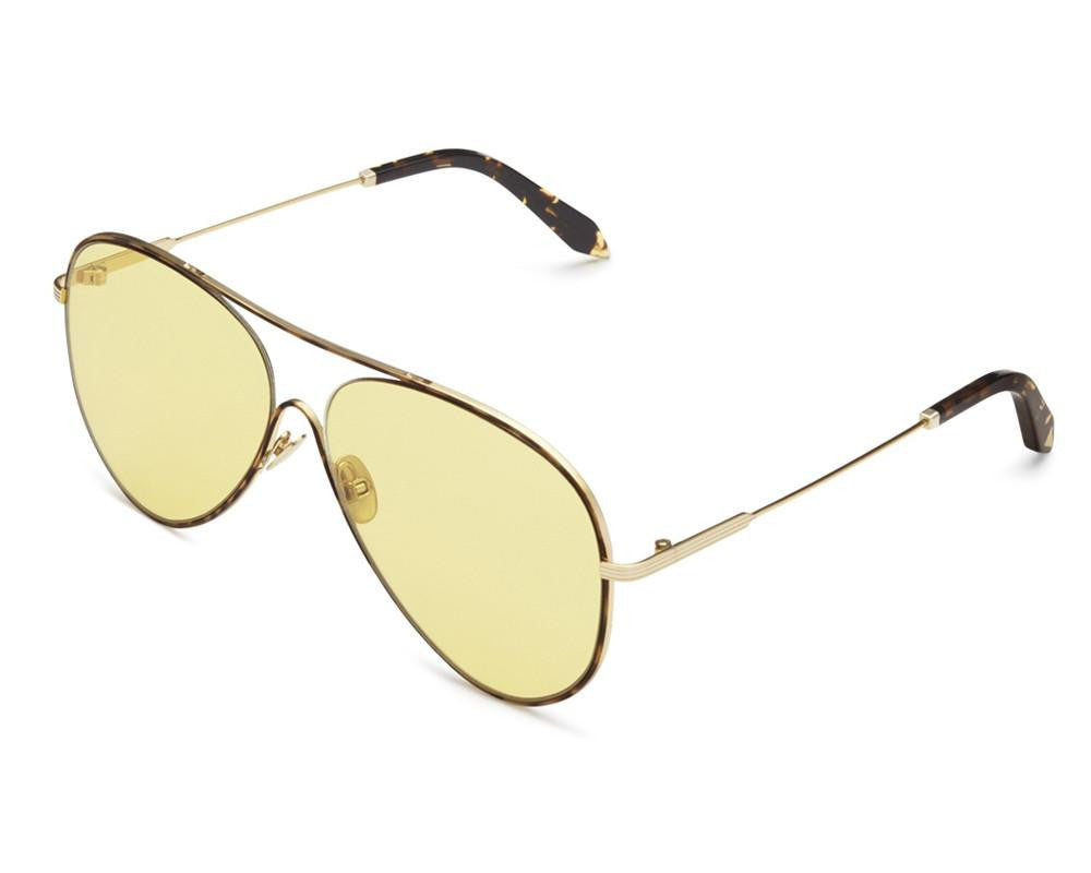 Loop Aviator Sunglasses in Lumiere Du Soleil Metal Victoria Beckham swp0iLg
