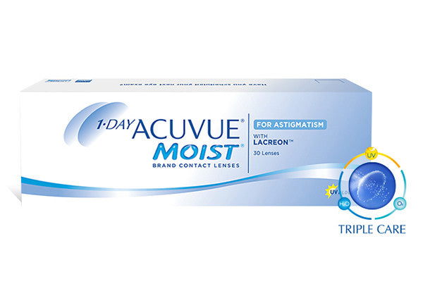 1 • DAY ACUVUE® MOIST® for ASTIGMATISM - Optic Butler