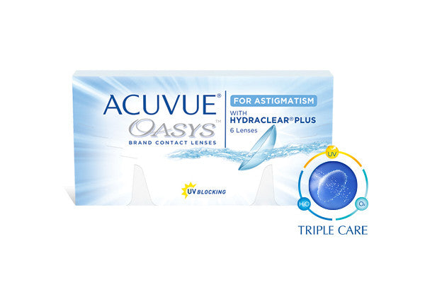 ACUVUE® OASYS® FOR ASTIGMATISM - Optic Butler